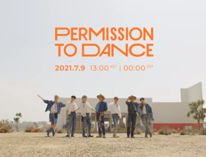 """BTS Releases """"Permission to Dance"""" Tease WATCH - B94.5"""